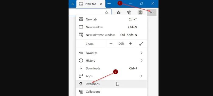 install a new theme in Microsoft Edge