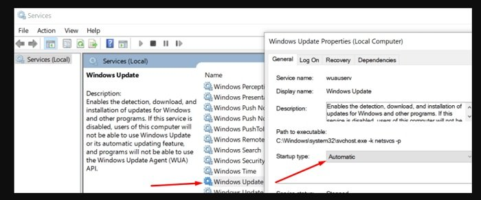 fix Update Error 800F0922 in Windows 10