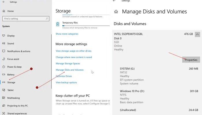 check SSD health and temperature in Windows 10