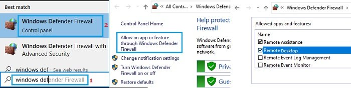 Fix Remote Desktop Not Working in Windows 10
