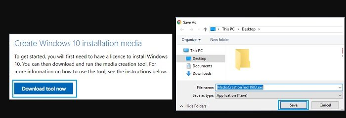 creating a bootable Windows 10 USB drive