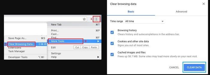 Fix Err_Empty_Response Error in Google Chrome