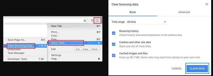 fix ERR_NAME_RESOLUTION_FAILED Error in Chrome