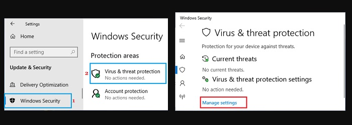 Disable Windows Security Temporarily and Permanently
